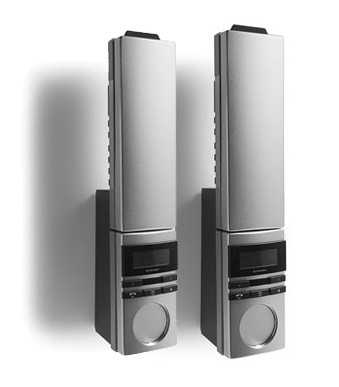Jacob Jensen T-6 Cordless Telephone Twin
