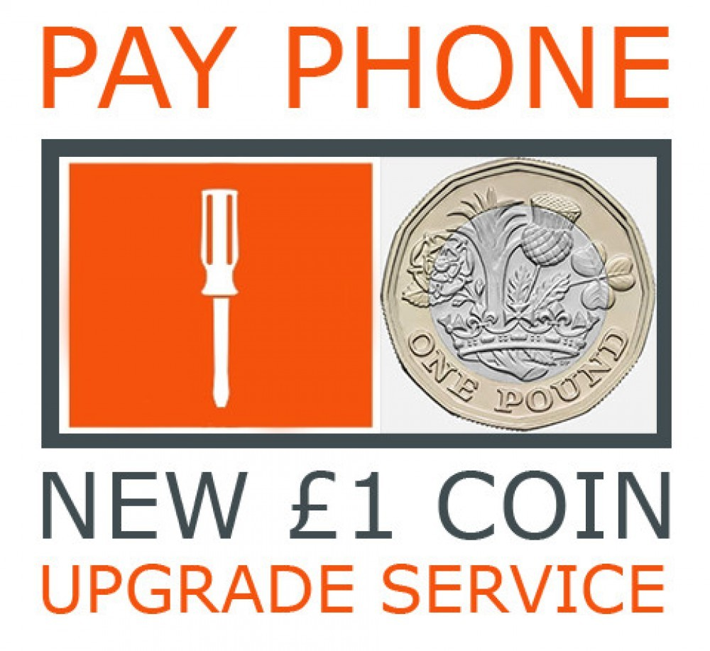 New £1 Coin Payphone Hardware Upgrade
