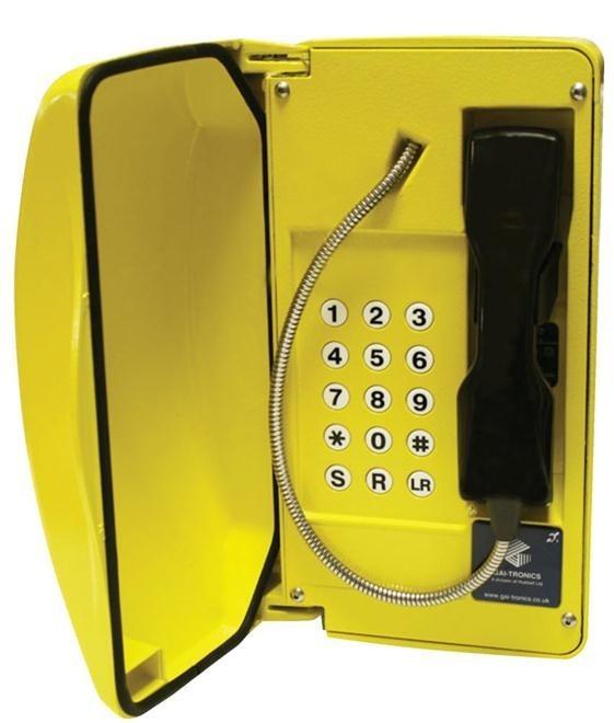 GAI-Tronics Titan Smart 15 Button - SC - Yellow
