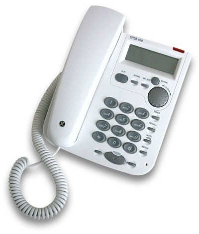 Geemarc TP38 Clip Telephone - White