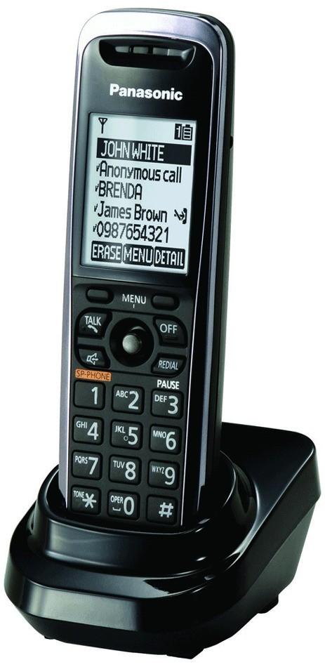 Panasonic KX-TGP500 Sextet DECT Cordless SIP IP Phone