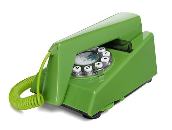 Wild & Wolf Trim Phone - Green