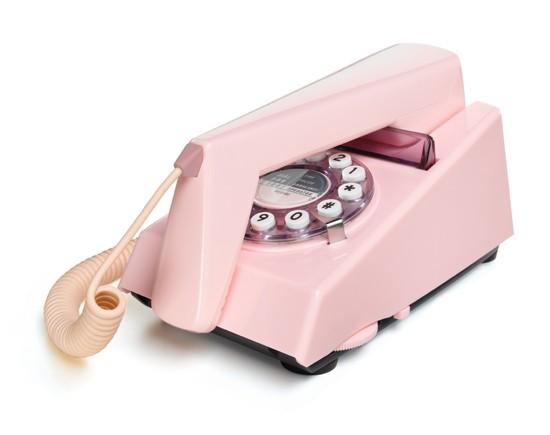 Wild & Wolf Trim Phone - Pink