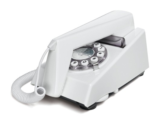 Wild & Wolf Trim Phone - White