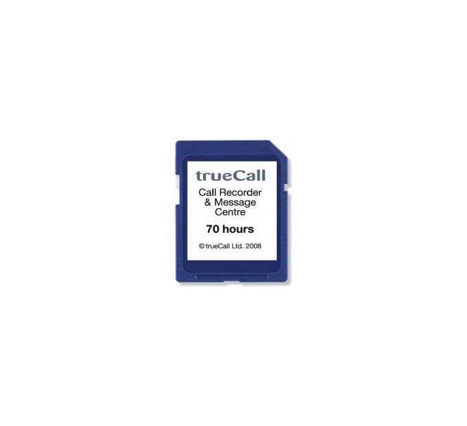trueCall Call Recorder - 70 Hours Card