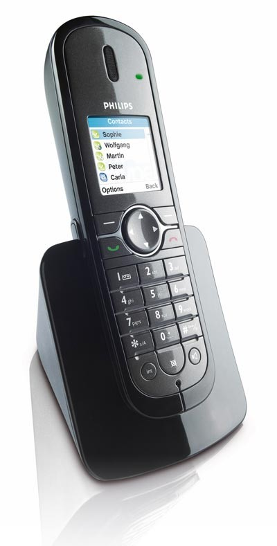 Philips VoIP841 - Combined Land Line and Skype Cordless Phone