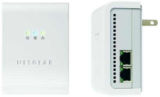 Netgear 85 Mbps Powerline Ethernet Switch Kit XEB1004