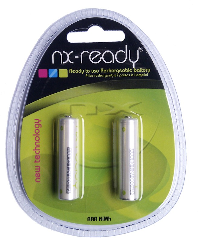 NI-MH 1.2V - 800mAH (AAA Rechargable Batteries)