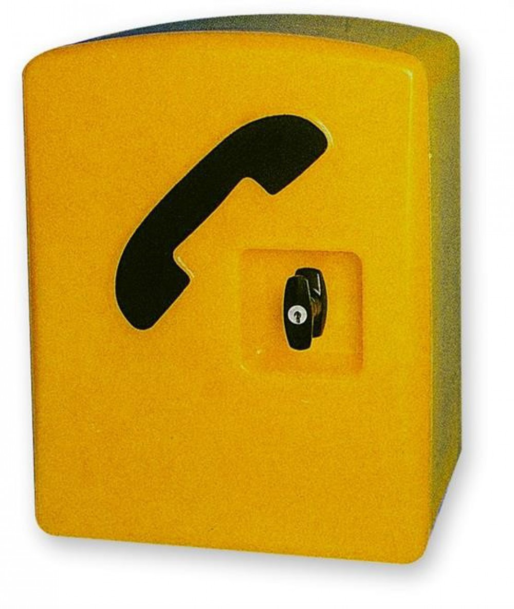 Storacall RM Telephone Cabinet - Yellow