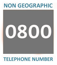 0800 - Silver Telephone Number