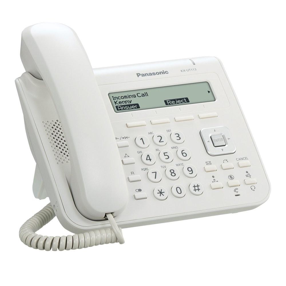 Panasonic KX-UT113X SIP Telephone - White