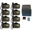BT Versatility 2 line Analogue Telephone System With 8 x V8 Handsets