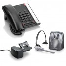 BT Converse 2200 Corded Telephone - Black and Plantronics CS60 DECT Wireless Headset A-Grade (36995-01) and Plantronics HL10 Lifter (36390-14) Bundle