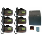 BT Versatility 2 line Analogue Telephone System With 6 x V8 Handsets