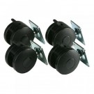 Prism Set of Four Heavy Duty Castors