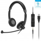 Sennheiser SC75 Duo USB Headset - MS
