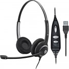Sennheiser SC260 USB Ctrl For Lync Binaural Headset