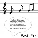 Basic Plus Production - Personalised Music on Hold