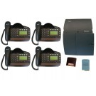 BT Versatility 2 line Analogue Telephone System With 4 x V8 Handsets