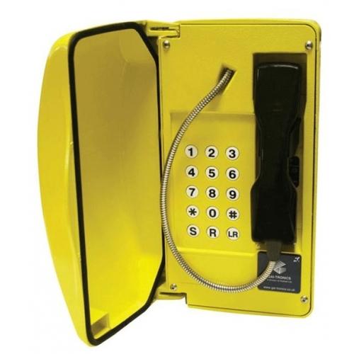 GAI-Tronics Titan SIP Yellow Help Point Box - 15 Button