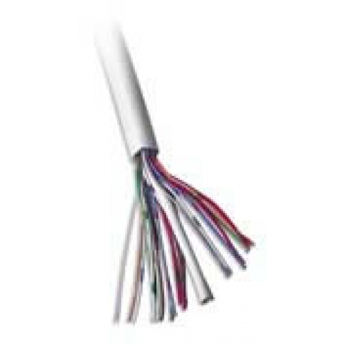 CW1308 10 Pair Earth White Telephone Cable Per 100m Roll
