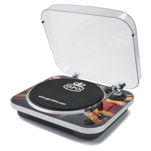 GPO Jam Retro Record Player