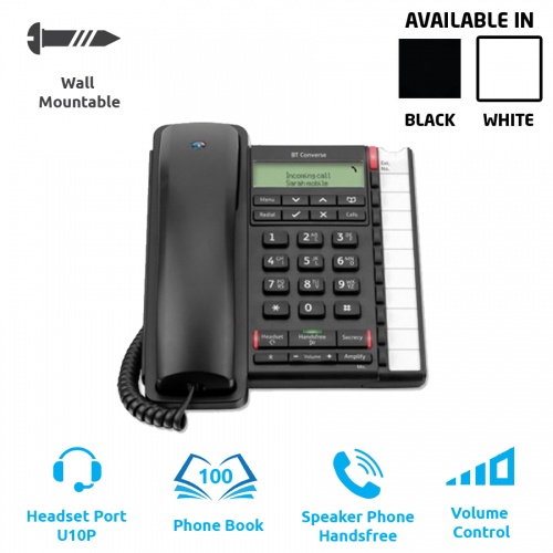 BT Converse 2300 (Corded Phone - Analogue)