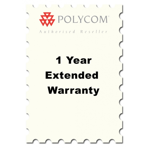 One Year Extended Warranty for Polycom Soundstation 2 models