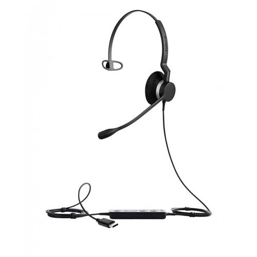 Jabra Biz 2300 Monaural USB-C Headset - UC - New