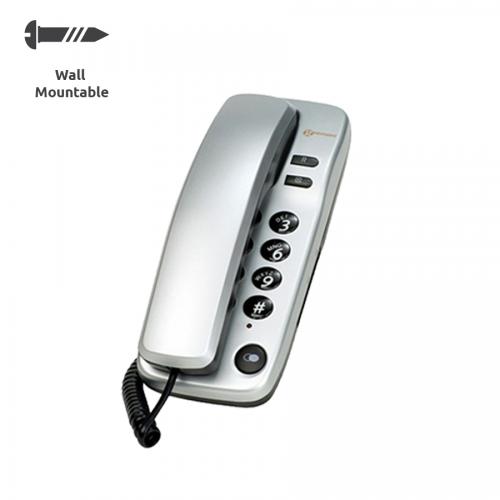Geemarc Marbella Domestic Phone - Silver