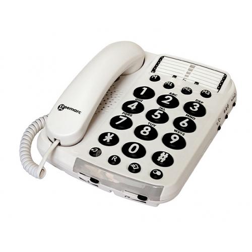 Geemarc Dallas100VM Amplified Telephone
