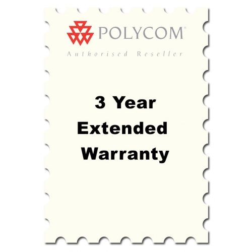 Three Year Extended Warranty for Polycom Soundstation 2 models