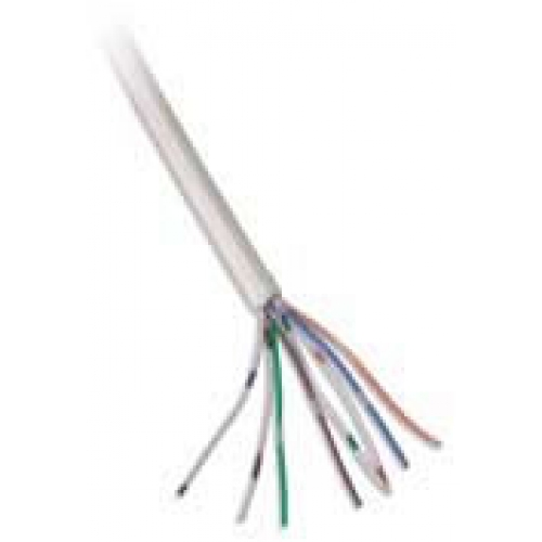 CW1308 4 Pair White Telephone Cable Per 100m Roll