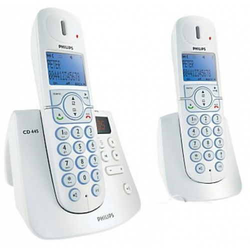Philips 4452 DECT Twin Pack with Answering Machine