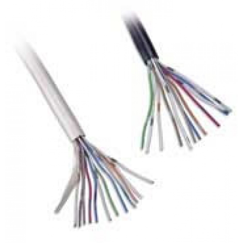 CW1308 6 Pair White Telephone Cable Per 200m Roll