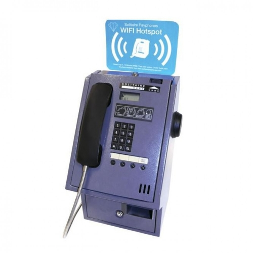 Solitaire 6000 HS Wifi Payphone