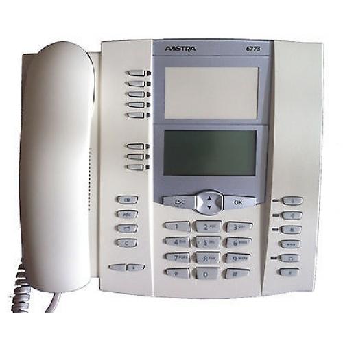 Mitel 6773 IP Phone - Ice Grey