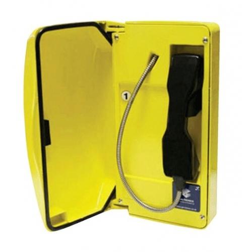 GAI-Tronics Titan SIP Yellow Help Point Box - 1 Button