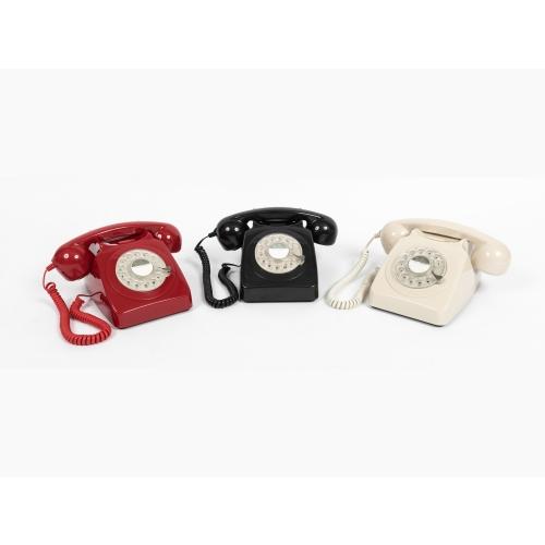 GPO 1970's Classic Rotary Dial Retro Telephone