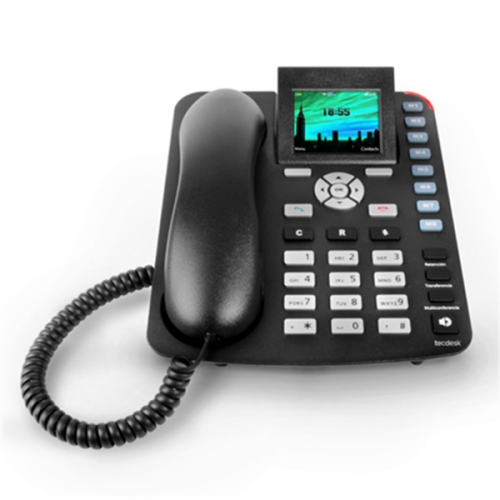 Tecdesk 3600 GSM Desk Phone with Bluetooth