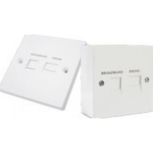 Generic ADSL/Broadband Filtered Telephone Socket