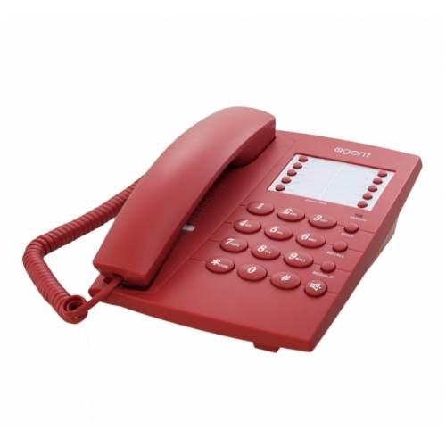 Agent 1000 Corded Telephone - Red