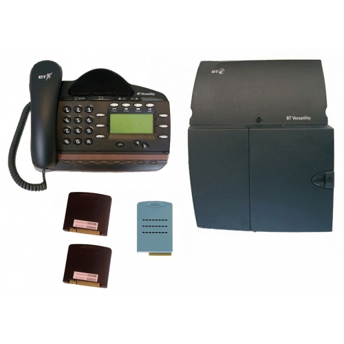 BT Versatility 4 line Analogue Telephone System With 1 x V8 Handset