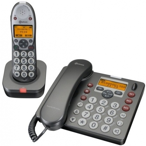 Amplicomms PowerTel 580 Desk Phone and DECT Combo