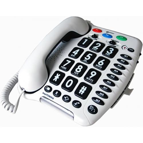 Geemarc Telecom Amplipower 40 Amplified Telephone