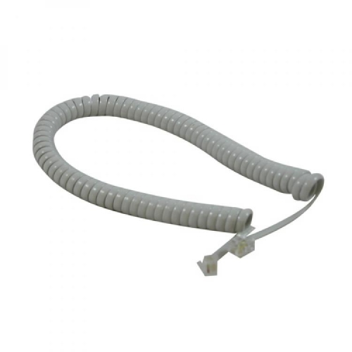 ATL Handset Curly Cord - Light Grey - New