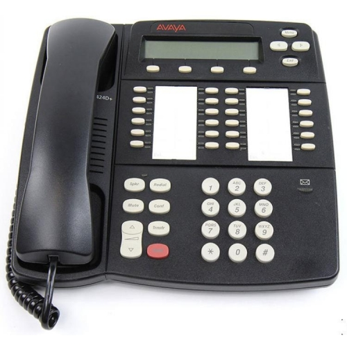 Avaya 4424D+ 24 Button Digital Telephone - Black - Refurbished