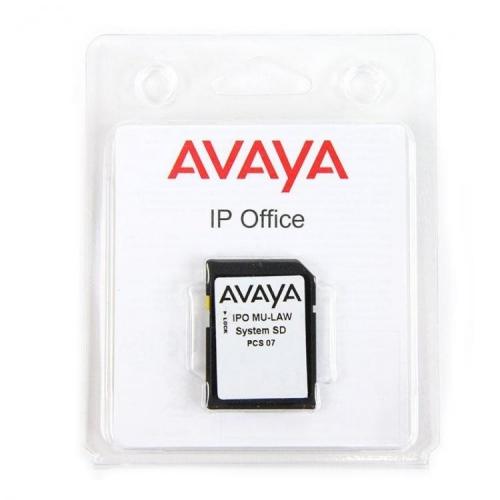 Avaya IP 500 V2 System SD Card IP Mu-Law - New
