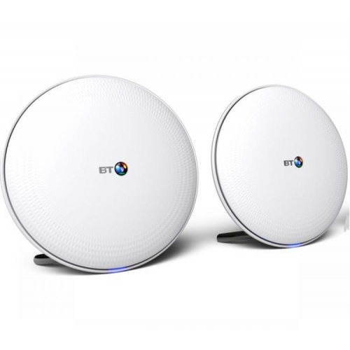 BT Whole Home Wi-Fi AC2500 Dual Band Networking System - Twin