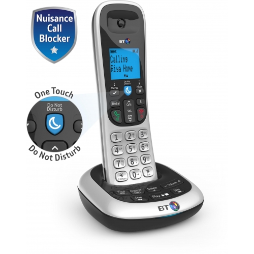 BT 2700 DECT Cordless Phone With Call Blocker and Answering Machine